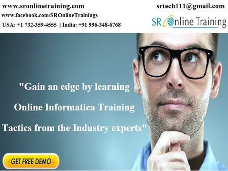 Welcome to #Informatica Online Trainin www.sronlinetraining.com   Sr Online Training   Scoop.it