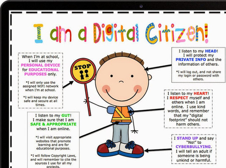 Digital Citizenship and Internet Safety - EdTechReview™ (ETR) | FootprintDigital | Scoop.it