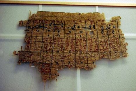 Inventory and accounts from a temple of Abusir. During the reign of Djedkare-Isesi, the Mortuary Temple of Neferirkare-Kakai. 5th dynasty. These archives, discovered in the 19th century in Abusir, ... | Pre-Modern Africa, the Middle East - and Beyond | Scoop.it