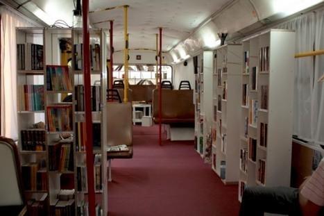 Bus –>Public library - Recyclart | Biblio Bulletin | Scoop.it