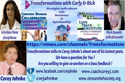 Transformations with Carly & Rick Interviews Corey Jahnke | Carly Alyssa Thorne | It's a Social Thing | Scoop.it