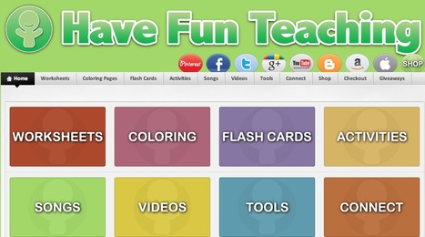 Have Fun Teaching | K-12 Web Resources | Scoop.it