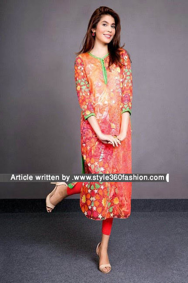Pakistani Lawn Dress 2014 Kayseria Lawn 2015 | Style360fashion | clothing and fashion new designs | Scoop.it