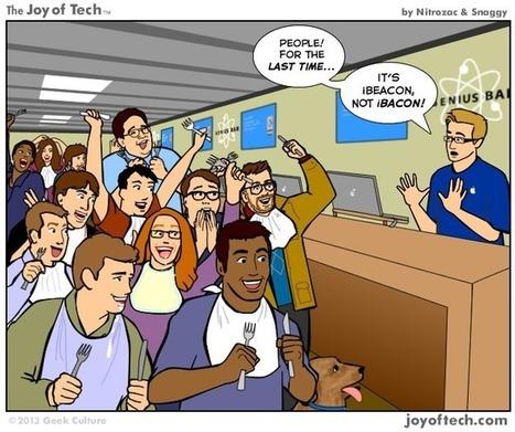 iBeacon : Apple pose ses balises de microlocalisation | Internet du Futur | Scoop.it