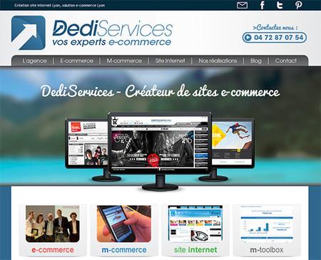 Nouveau site internet DediServices | Blog eCommerce de la société | DediServices : Solution Web | Scoop.it