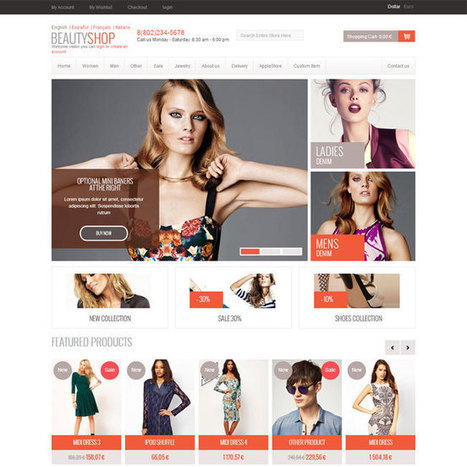 Best Fashion Prestashop Themes | Prestashop Theme Download | Best Prestashop Themes | Scoop.it