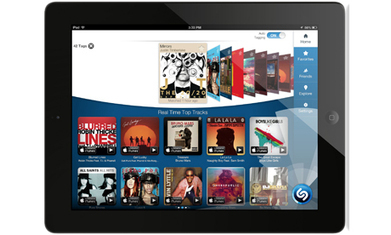 Shazam redesigns its iPad app with television-tagging in mind | mediaTIC+ | Scoop.it