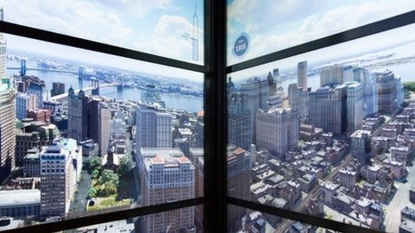 IL Y A 1 AN...L'observatoire du nouveau World Trade Center offre une visite très augmentée de NY | Clic France | Scoop.it