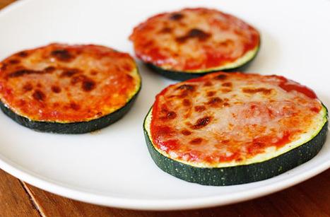 Zucchini Pizza Bites | Skinnytaste | Healthy Meals | Scoop.it
