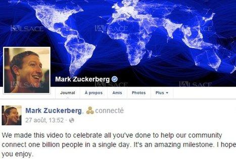 Réseaux sociaux #Facebook : un milliard par jour | Social media | Scoop.it