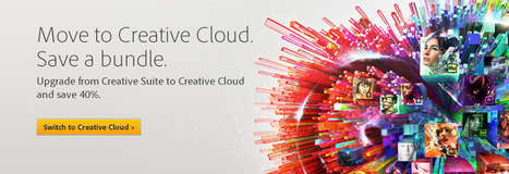 Save 40% on Adobe CS Cloud Suites (Last Day) | Artdictive Habits : Sustainable Lifestyle | Scoop.it