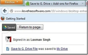 Free Firefox Extension To Save Online Files Directly To Google Drive | Time to Learn | Scoop.it