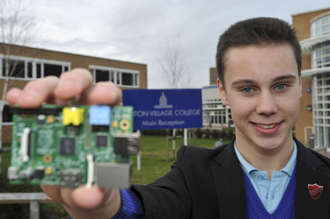Slice of success for 'The Raspberry Pi Guy' as Linton schoolboy's video ... - Cambridge News | Arduino, Netduino, Rasperry Pi! | Scoop.it