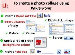 Creating Photo Collages in PowerPoint | E-Learning Suggestions, Ideas, and Tips | Scoop.it