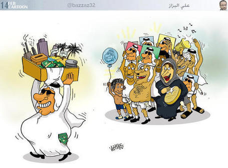Jan19: #Cartoon #Bahrain Regime Eulogists!!#USA #UK #France #Egypt #Syria | Robby Ball | Scoop.it