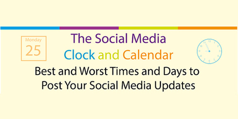 The Best and Worst Times and Days to Post Your Social Media Updates | cyberpsychology | Scoop.it