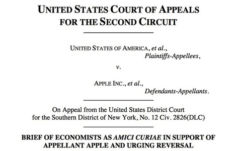 CalTech and NYU economists call for Apple ebooks trial verdict to be overturned - 9 to 5 Mac | Digi Pub | Scoop.it
