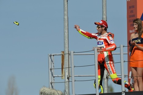 Exciting podium for Rossi at Misano, Hayden seventh despite pain | Ductalk Ducati News | Scoop.it