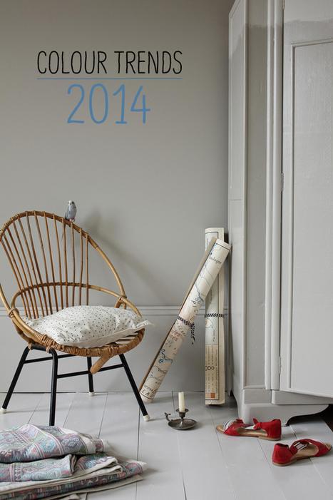 Happy Interior Blog: Colour Trends 2014 | Trends | Scoop.it