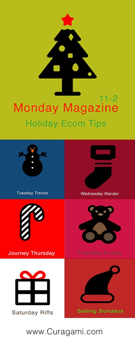 Holiday Ecommerce Tips Magazine - 35 Secret Tips (5 Per Day for 7 Days) | BI Revolution | Scoop.it