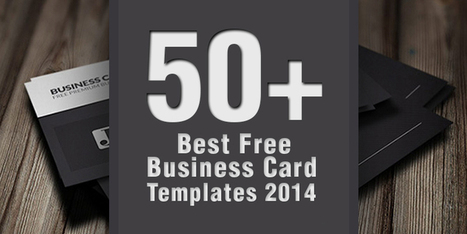 50+ Best Free Business Card Templates 2014 | Business Cards | Scoop.it