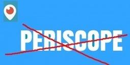 Periscope – 4 raisons de ne pas l'utiliser : blog marketing | Infos marketing - Persévérez, agir et accomplir | Scoop.it