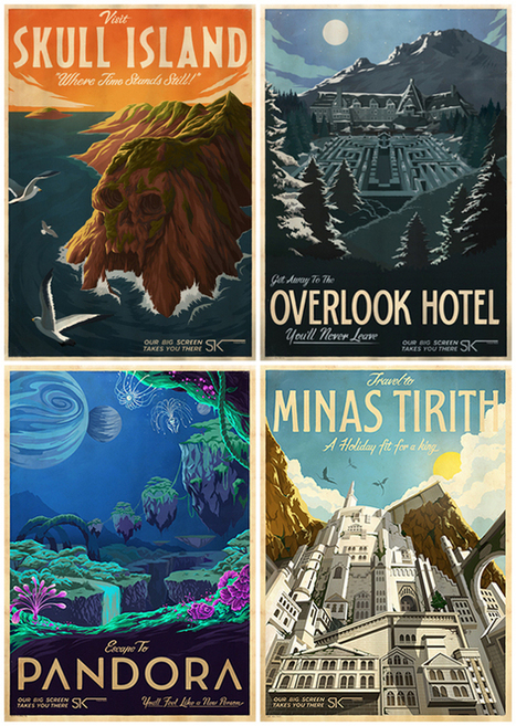 Affiches : des vacances geeks | And Geek for All | Scoop.it
