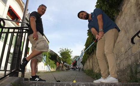 Street golf: A Paris, le golf descend dans la rue - 20minutes.fr | Urban Golf | Scoop.it