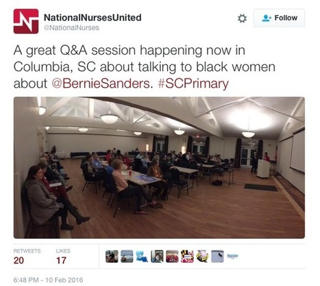 """Bernie-Backing Union Super PAC Holds """"Talking To Black Women"""" Session 