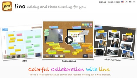 Organiser un brainstorming à distance avec linoit.com | Time to Learn | Scoop.it
