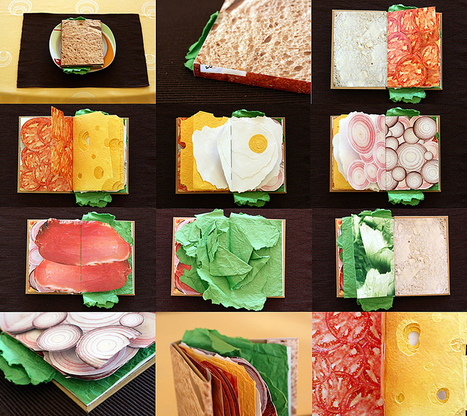 Sandwich Book | Piotrowski Design | Paper is beautiful | Scoop.it