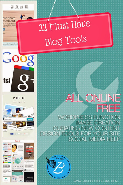 Fabulous Blogging - Google+ - There are so many free and easy tools for bloggers. Here… | Internet Marketing | Scoop.it
