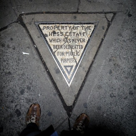 Hess Triangle: The Smallest Piece of Private Property in New York City | enjoy yourself | Scoop.it