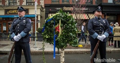 Courage and Compassion: 24 Photos That Show What Boston Strong Is All About | Veterans | Scoop.it