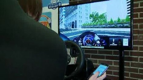 Local Students Learn Dangers Of Texting And Driving - CBS Local | NLA E-Safety | Scoop.it