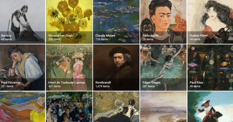 Google's Art and Culture app turns your phone into a museum | The World of Open | Scoop.it
