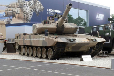 The world's top 10 main battle tanks - Army Technology | EEDSP | Scoop.it
