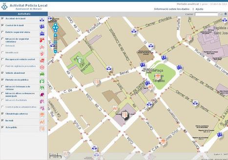 Mapa de l'activitat policial de Mataró | TIG | Scoop.it