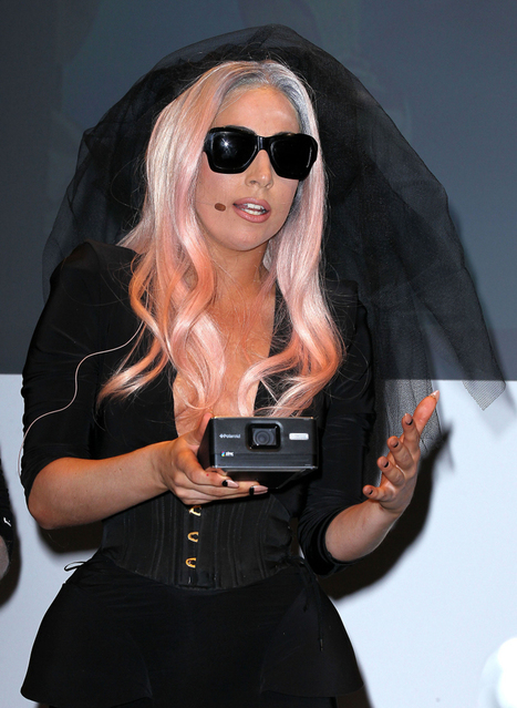 Lady Gaga introduces her first Polaroid invention - Celebitchy | Kids who design, tinker, prototype and create | Scoop.it