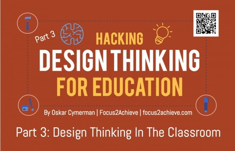 Hacking Design Thinking For Education Part 3:  Design Thinking In School | Librarian Scoop du Jour: School Libraries, Literacy and Educational Technology | Scoop.it