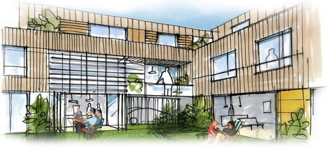 Coopérer pour un habitat solidaire, abordable et durable, au coeur du quartier des Champs Manceaux, à Rennes - Aiguillon résidences | veille technique | Scoop.it