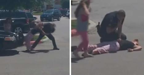 GRAPHIC VIDEO: Cop Knocks Woman Unconscious as 6-Year-Old Daughter Watches in Horror | Introduce new course in schools called COMPASSION | Scoop.it