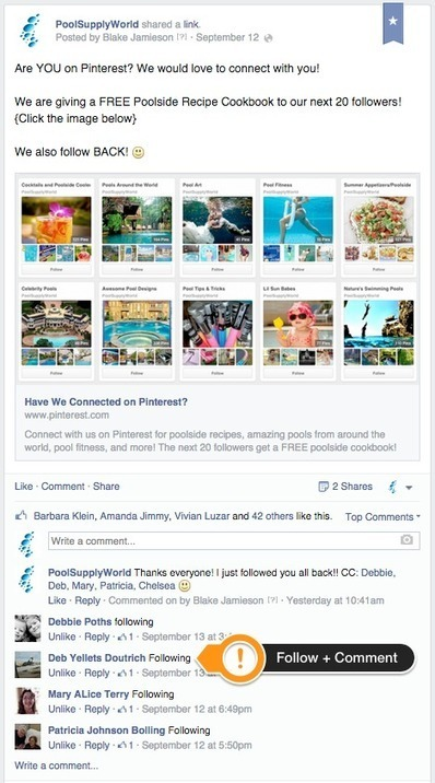 One SIMPLE Pinterest Trick to Get You More Followers (and 3 ways to use it!) | SM, webdesign, webdev & fun! | Scoop.it