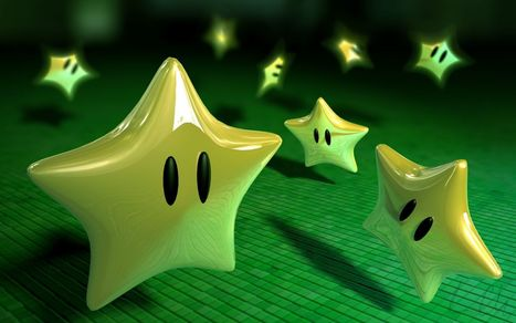 Super Mario Stars 3D Wallpaper Stars in HD Quality Free Download | Cool HD & 3D Wallpapers - Free Download | Scoop.it