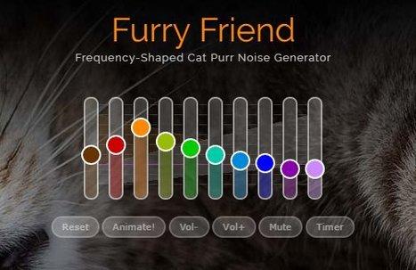 Cat Purr | Your Furry Friend's Noise, Online & Free | Quantified Pet | Scoop.it