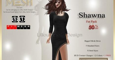 Lillou Merlin Design: Shawna | 亗 Second Life Freebies Addiction & More 亗 | Scoop.it