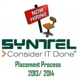 Placement Criteria for Syntel with Placement Papers for 2013/ 2014 pdf | Placement | Scoop.it