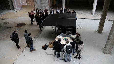 Visita al mini Fablab móvil, ULB La Cambre, Bruselas   Architecture ...   Informal Open Social Learning Space   Scoop.it