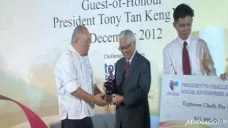 4 social enterprises awarded President's Challenge Award - Channel News Asia | Inclusive Business in Asia | Scoop.it
