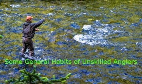 Why inexperienced anglers are unskilled? | Fishing Spot App | Scoop.it